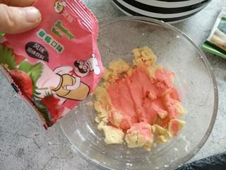免炒无油无糖~清甜绿豆冰糕,当然想吃草莓口味的就加草莓果味粉