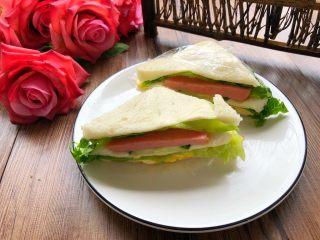 自制三明治,方便又美味