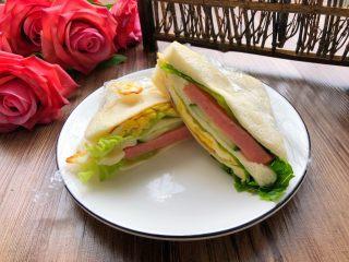 自制三明治,成品图三