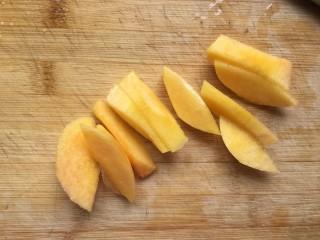 桃橙之恋 夏日饮品,切块