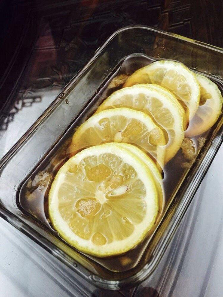 减肥美白蜂蜜柠檬🍋茶🍵