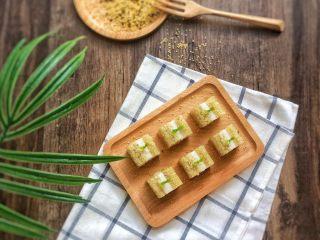 夏日小清新:藜麦金米马蹄糕