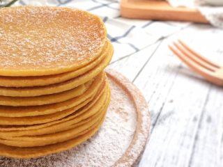 健康粗粮小点心:蜂蜜玉米面饼,健康美味。