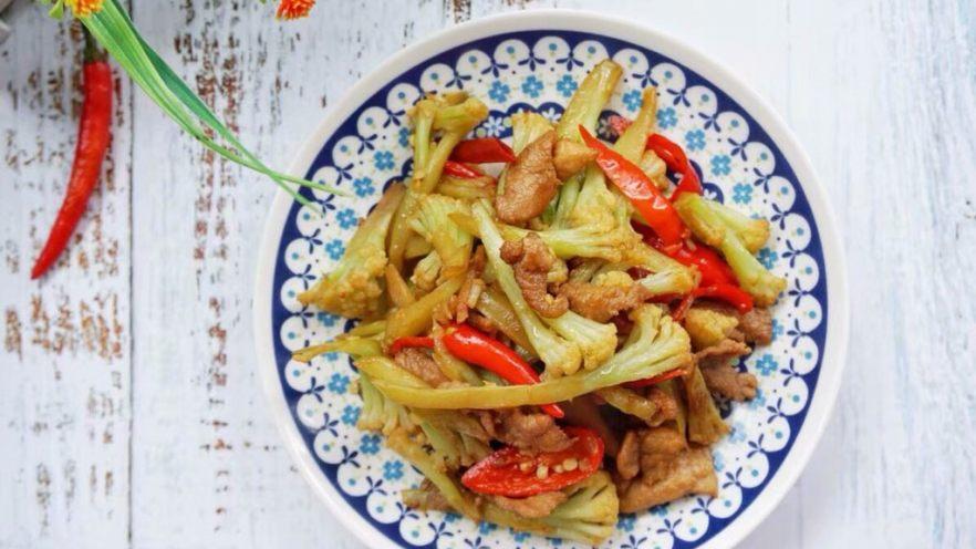 家常干锅花菜