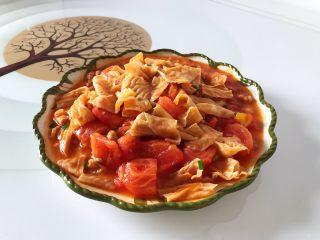 肉沫茄汁腐皮西红柿