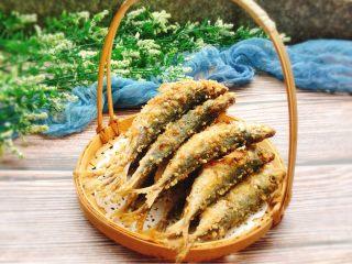 下酒菜+香酥鱼,成品图