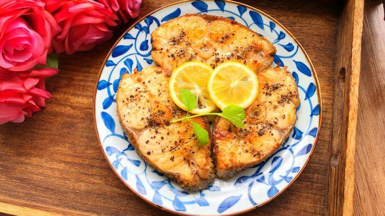 柠香鳕鱼,香喷喷的柠香鳕鱼就做好了