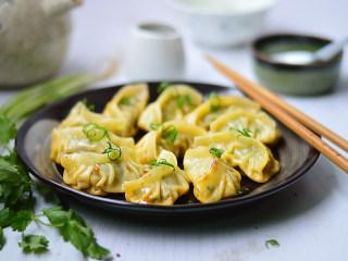 韭菜猪肉煎饺