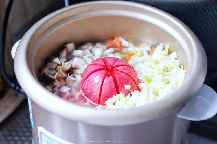 番茄主题 | 一颗番茄饭+蜜桃红茶