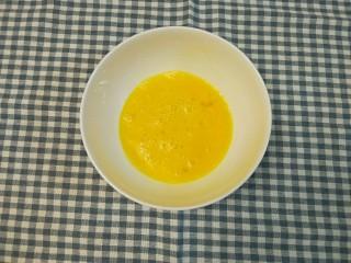 炸香蕉,鸡蛋打散