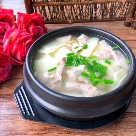 绿笋瘦肉汤
