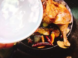 下酒菜+红烧鸭腿,清水