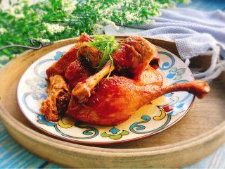下酒菜+红烧鸭腿,成品图