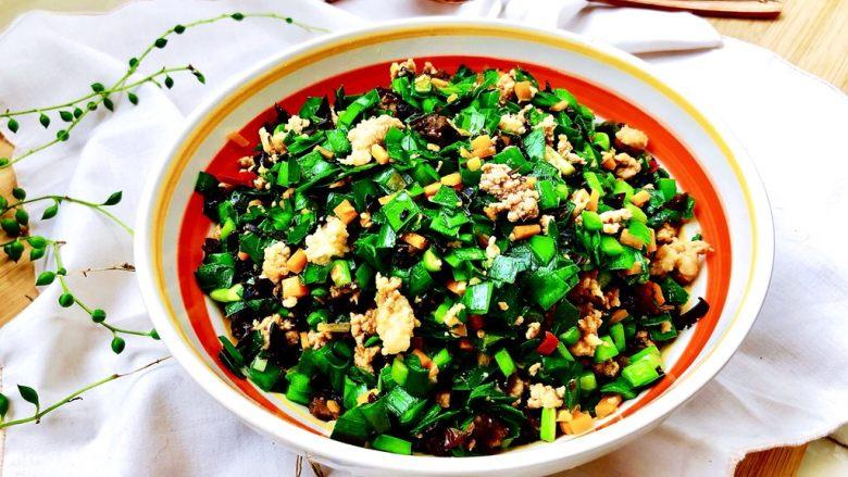 """超鲜美的""""下饭菜""""➕韭菜木耳炒肉末"""