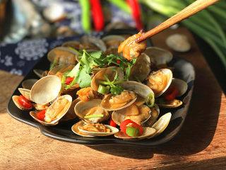 辣炒花蛤,肉质超级鲜美又滑嫩哈