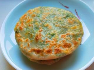 韭菜鸡蛋虾皮馅饼