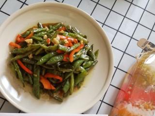 快手正餐 蒜蓉干煸四季豆