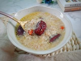 猴头菇肉汤羹,成品