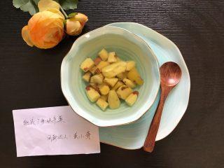快手小食 生姜冰糖红薯甜汤,甜甜的,又带有一丝姜味,非常好喝,关键是对身体好,好喜欢(❀ฺ´∀`❀ฺ)ノ
