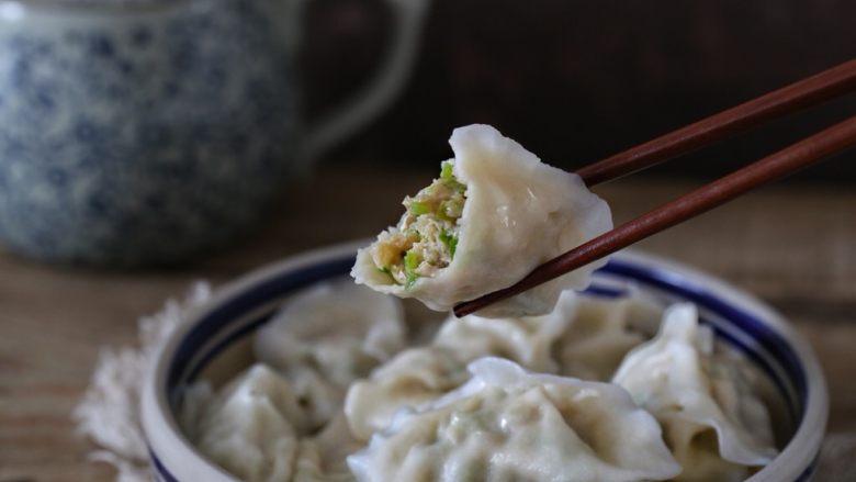 青椒猪肉馅水饺