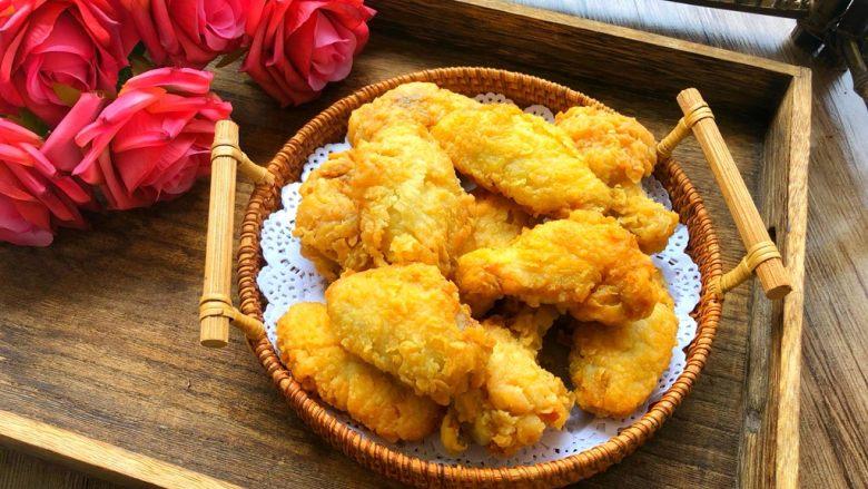 炸鸡翅,香香脆脆的炸鸡翅