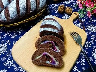紫薯可可麻薯软欧