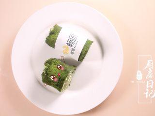 那一抹毛巾卷的绿,成品欣赏