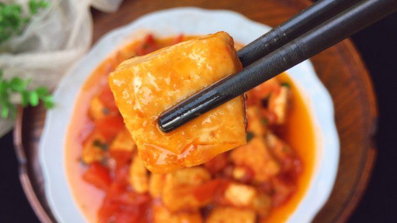 茄汁豆腐,完成