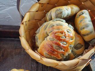 豆沙环形面包,再看