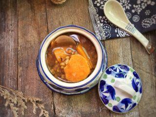 红薯绿豆汤,好吃