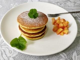 快手早餐  原味鸡蛋松饼