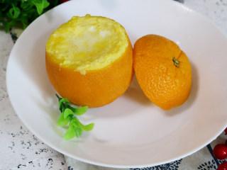 宝宝爱吃的香橙蒸蛋