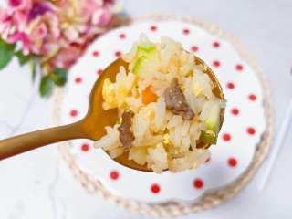 【宝宝辅食】牛肉黄金炒饭,牛肉黄金炒饭 get ✔