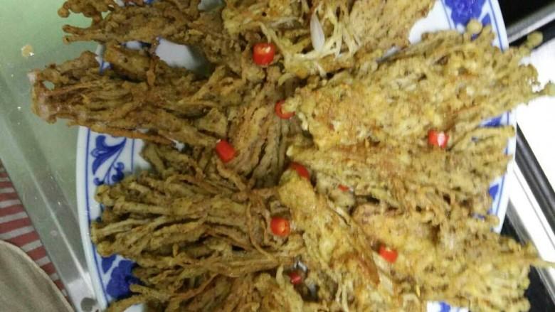 椒盐金针菇
