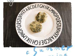 紫菜虾米鸡蛋饼