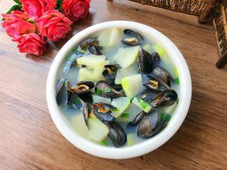 淡菜冬瓜汤,特别鲜美