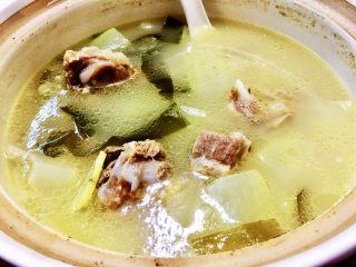 夏日消暑靓汤➕冬瓜海带排骨汤,成品