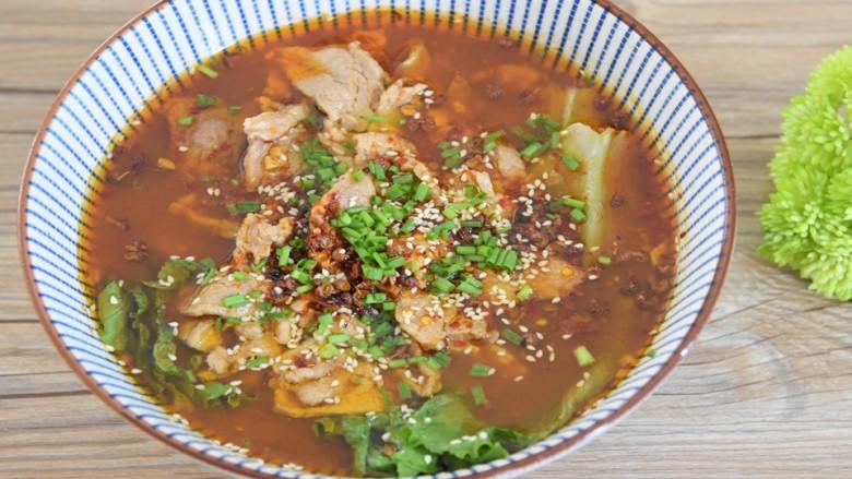 水煮肉片,又麻又辣的经典川菜,一定是很多人的最爱吧