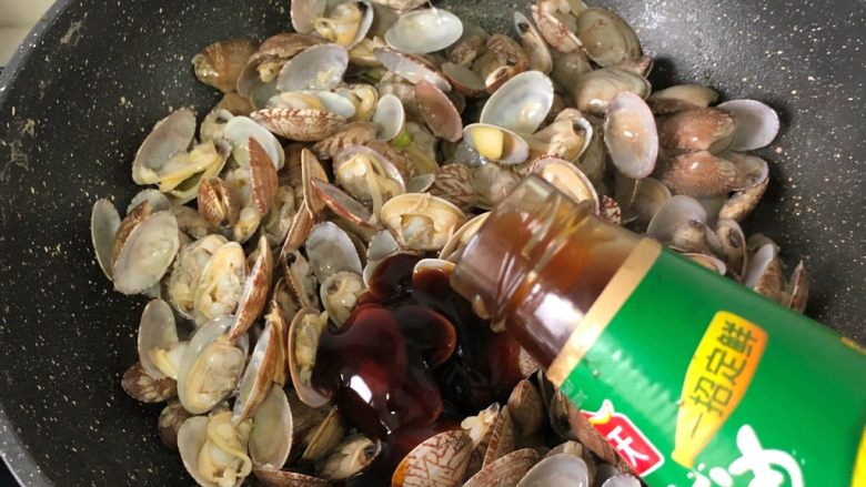 蚝油花蛤,蚝油2汤匙