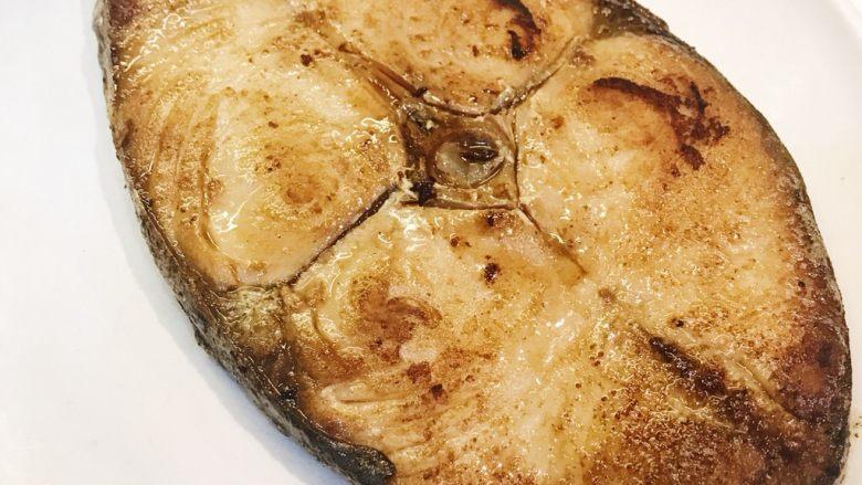 香煎马鲛鱼