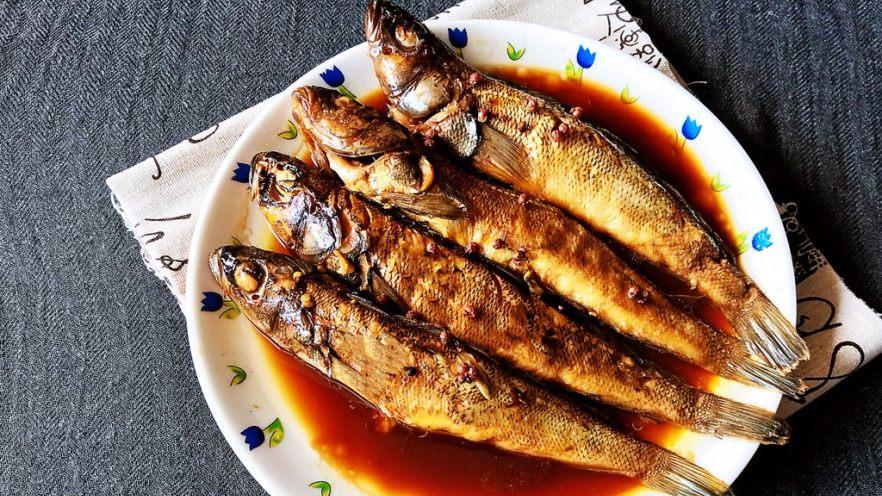 #年年有鱼#  红烧海黄鱼