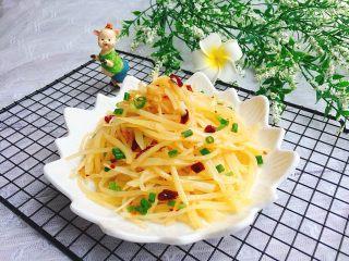 家常菜+香辣土豆丝,成品图