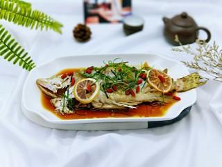 #营养美食#柠香桂鱼