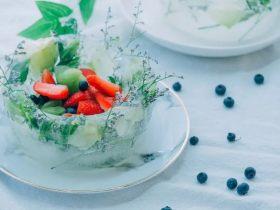 高颜值的水果鲜花冰碗!你从没见过的鲜花新玩法!
