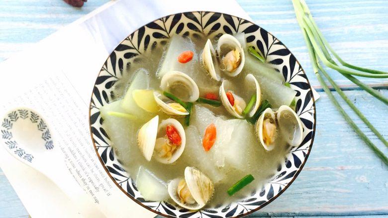 鲜美蛤蜊冬瓜汤