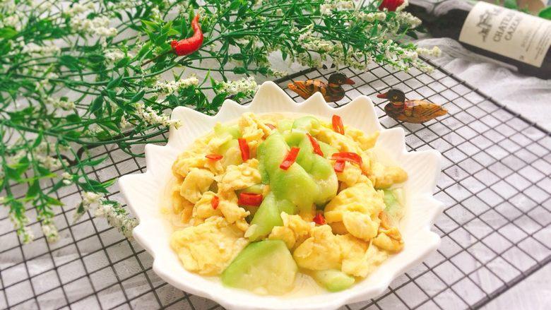 家常菜+丝瓜炒蛋