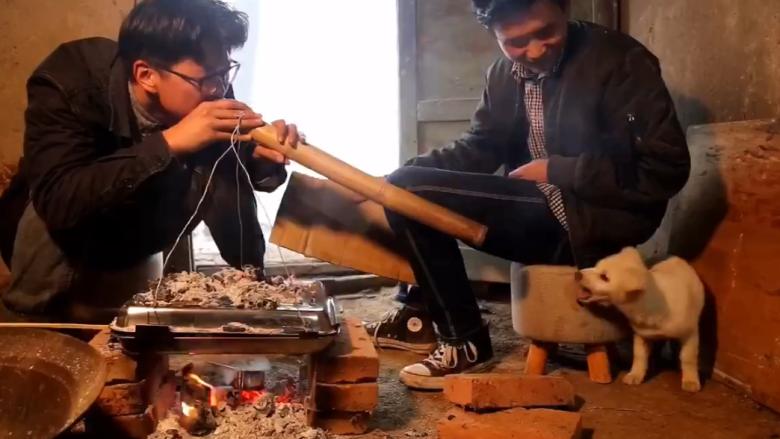 《野居青年》自制一个烤箱,做一份巧克力板栗月饼