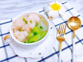 超鲜丝瓜粉丝虾滑汤