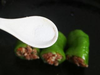 香辣可口的虎皮娘肉,适量盐