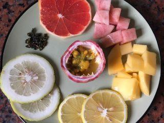 水果茶,准备材料